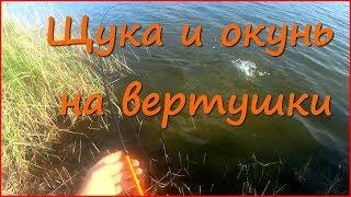 Рыбалка на спиннинг осенью. Ловля щуки и окуня на вертушки.