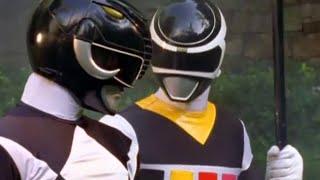 Power Ranger En El Espacio | Black Ranger In Space y MMPR team-up - Adam