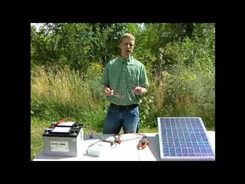 Basic 12 volt solar electric suggestions