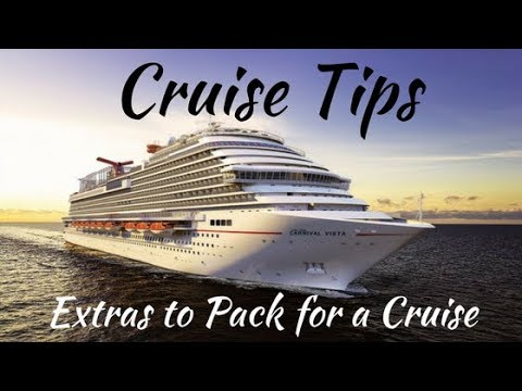Cruise Tips: 27 Extras to Pack (Some You May Not Have Thought Of)