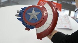 Nerf Captain America Bouclier Deluxe  - Démo en français