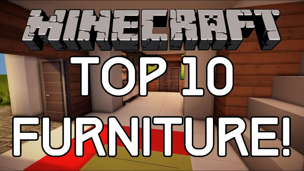 Top 10 Minecraft Furniture Designs   Interior Design