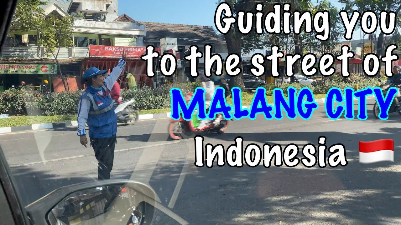 Street View Of Malang City East Java Indonesia Soekarno Hatta Street August 2020 Youtube