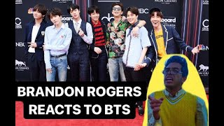 Brandon Rogers reacts to BTS