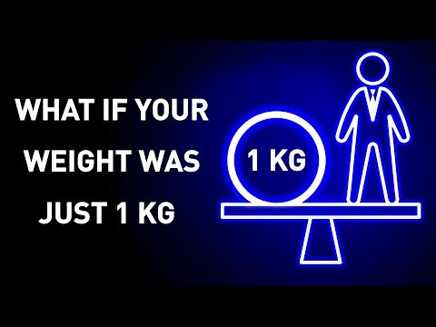 What If Your Weight Was Just 2 Lbs (1 Kg)