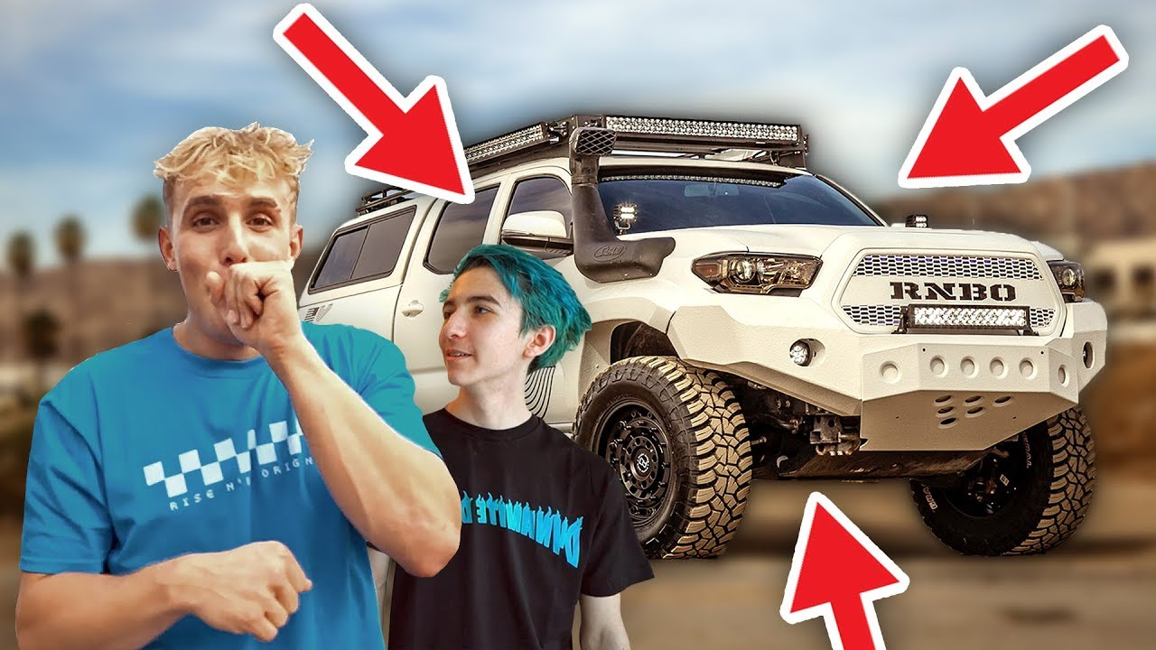 BEST FRIEND SURPRISES ME WITH NEW TRUCK!! **wtf**