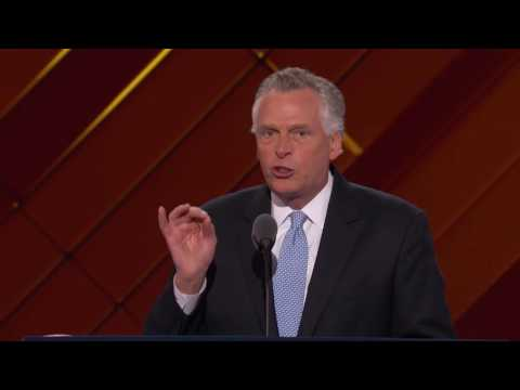 Governor Terry McAuliffe at DNC 2016