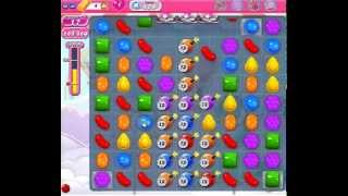 How to beat Candy Crush Saga Level 429 - 1 Stars - No Boosters - 395,920pts
