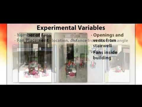 NIST Fire Research: Positive Pressure Ventilation for the Fire Service