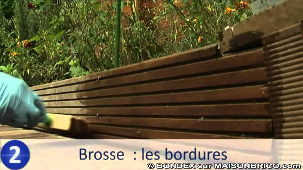 comment entretenir une terrasse en bois bondex sur youtube. Black Bedroom Furniture Sets. Home Design Ideas