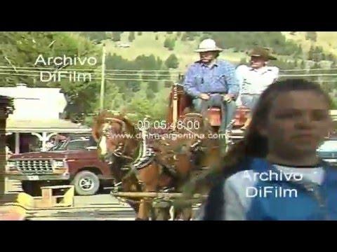 DiFilm - Imagenes de la ciudad de Jackson Hole en el estado de Wyoming 1992