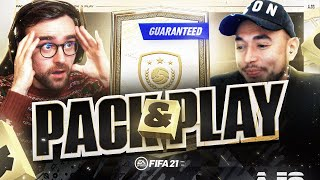 BASE OR MID ICON SBC!!! Fifa 21 Pack And Play