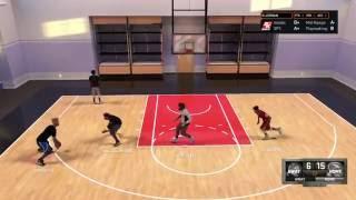 NBA 2K16 my court broke him 2 times