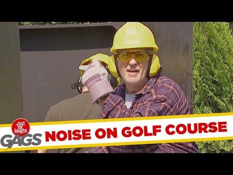 Distracting Golfers Prank