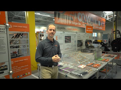 igus® Booth Tours - chainflex® Cables - BUS Cables