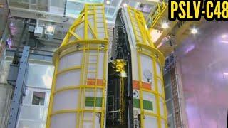 Making of RISAT-2BR1 (PSLV-C48 Rocket)