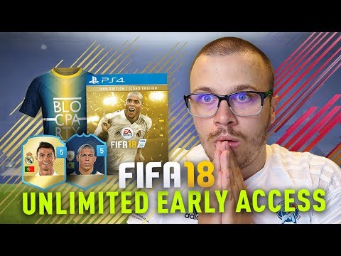 FIFA 18 EARLY ACCESS OUT In 40 HOURS! HOW TO GET UNLIMITED FIFA 18 EARLY ACCESS!