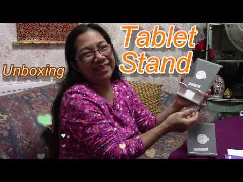 Unboxing Tablet Stand 🎁Sturdy and Durable 💖 Flourish by Flora