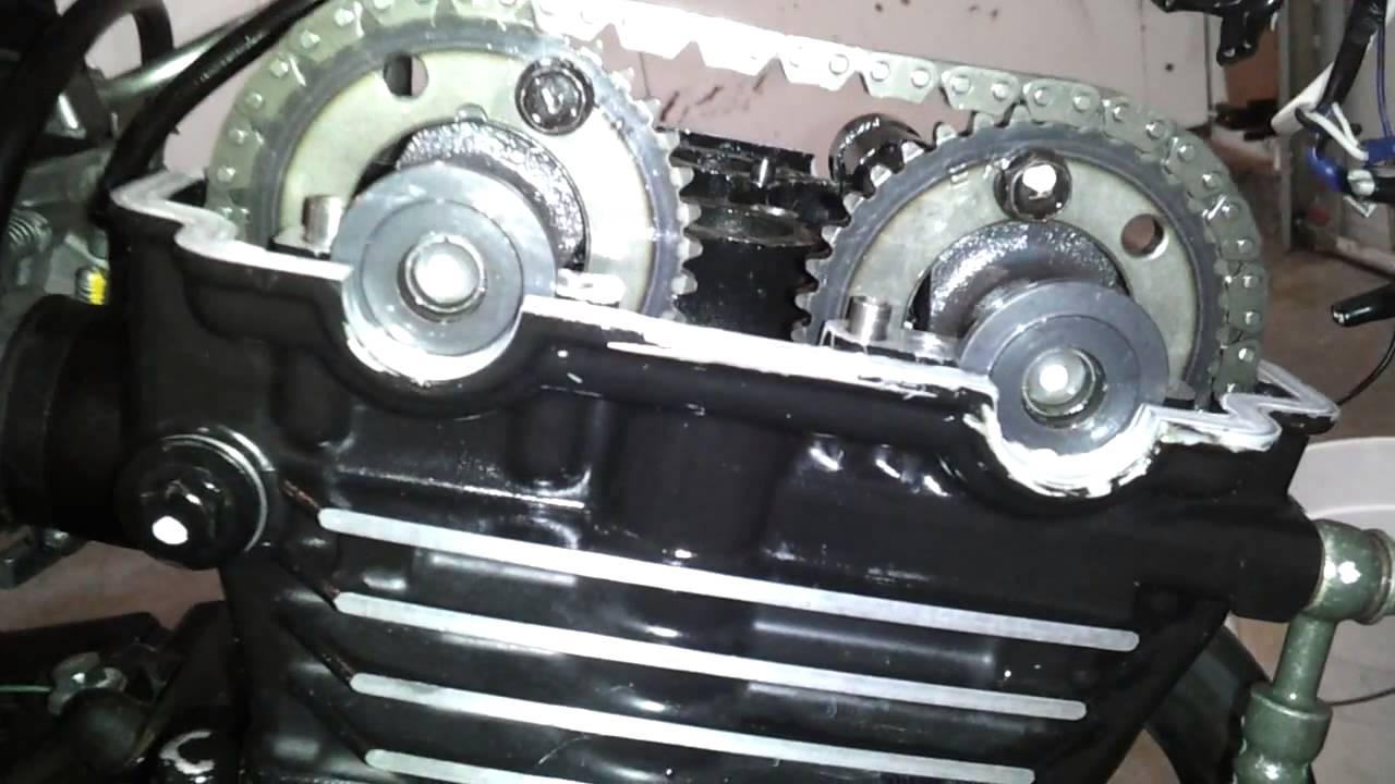 Kawasaki Ninja EX250 valve replacement part 4 of 4