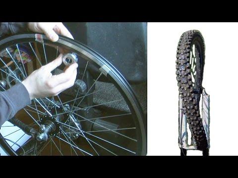 Как исправить, выровнять, убрать восьмерку на колесе велосипеда видео