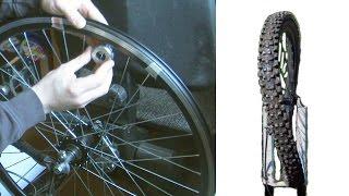 Как исправить, выровнять, убрать восьмерку на колесе велосипеда видео(Мой ВК https://vk.com/id263241899 Полезные видео с моего канала, о ремонте велосипеда. 1) Задняя втулка колеса обслуживан..., 2016-04-23T16:12:53.000Z)