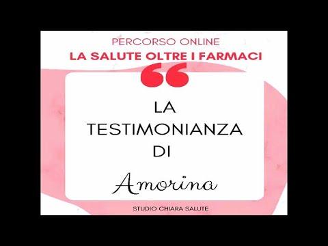 LA SALUTE OLTRE I FARMACI: Testimonianza Amorina