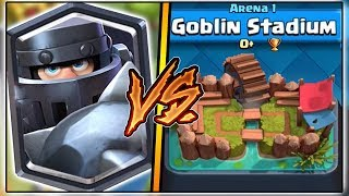 MEGA KNIGHT TROLLING ARENA 1 IN CLASH ROYALE | FUNNY MOMENTS & MEGA KNIGHT GAMEPLAY!
