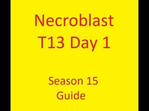 Necroblast T13 Day One Rathma