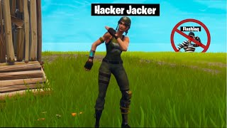 Hacker Jacker takes over Flashinqs stream