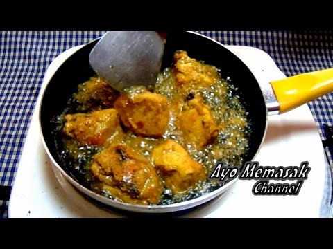 Resep dan Cara Memasak Ayam Goreng Rempah