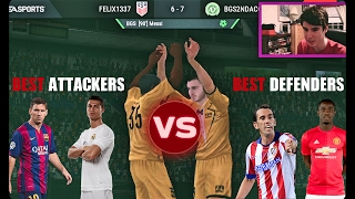 FIFA Mobile TEST!! What Matters More, OFFENSE or DEFENSE?!? WOW.!! FIFA MOBILE ANDROID/IOS