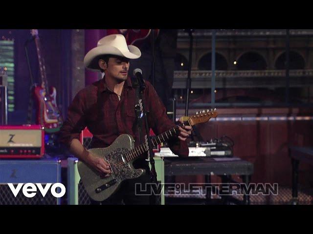 Brad Paisley - Then (Live on Letterman)