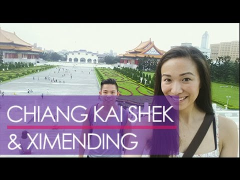 Taiwan 2015 (Day 4): Chiang Kai-shek Memorial & Ximending! | bethanyjchan vlog