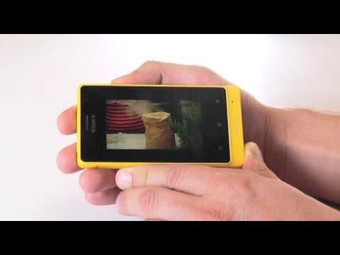 Análisis del smartphone ultra resistente: Sony Xperia Go con Orange