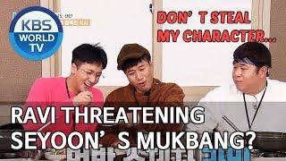 Ravi threatening Seyoons Mukbang? 2 Days &amp 1 Night Season 4ENG2020.01.12