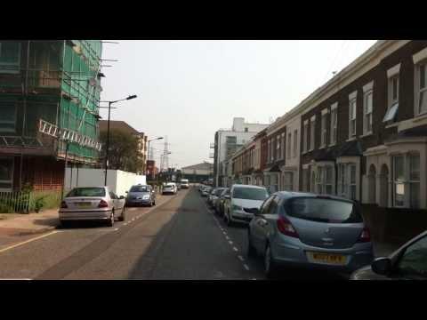 London streets (46.) - St James street - London wall - The Highway - Abbott Road (E14)