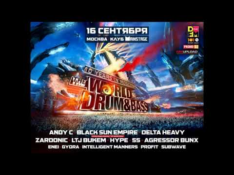 DJ SS @ World of Drum & Bass, Moscow - 16.09.2017