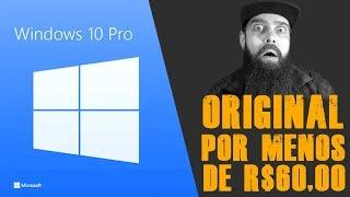 Como ter Windows 10 Original por menos de R$60,00 - Use o Código de Desconto SKDGvip10%