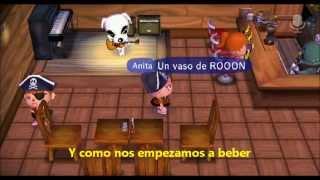Animal Crossing Piratas en busca del cofre del tesoro