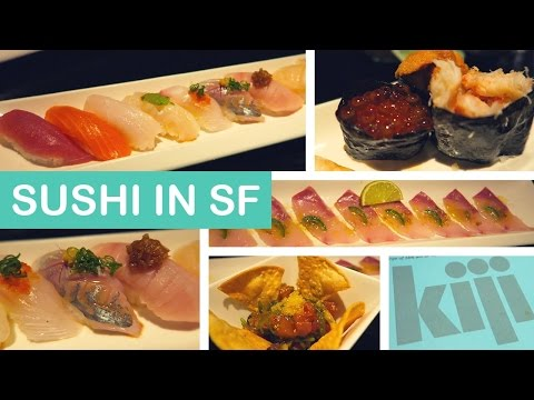 Kiji Sushi Bar | SAN FRANCISCO VLOG