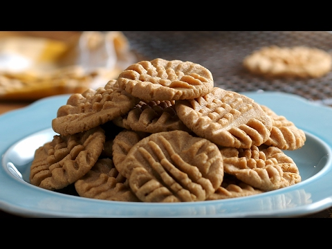 3-Ingredient Peanut Butter Cookies
