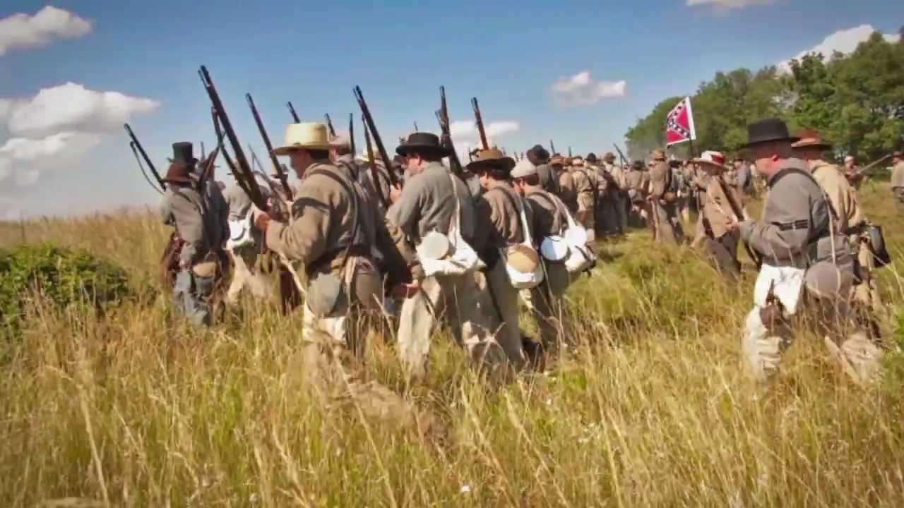 The Bloody Wheatfield - Gettysburg 150th Reenactment