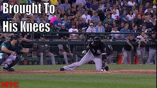 MLB Hitters Getting Bucĸled Compilation