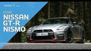 Essai Nissan GT-R Nismo (2017) - 600 ch de folie !