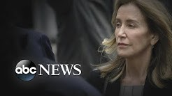 Actress Felicity Huffman pleads guilty in college cheating scandal