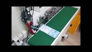 마스크 포장 실링기에 마스크 인쇄기계를 결합하면 생산속…