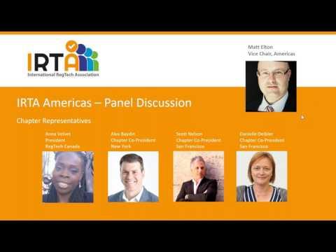 International RegTech Association (IRTA) Launch Webinar