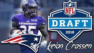 Patriots Draft DB Keion Crossen | 7th round | pick 243 | 2018