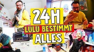 KÖNIGIN Lulu darf 1 TAG lang ALLES BESTIMMEN 😱Teil 1 der 24h CHALLENGE - Lulu & Leon