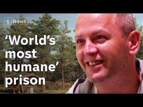 "Inside the ""world's most humane"" prison"